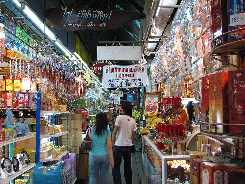 Chatuchak Weekend Market in Bangkok