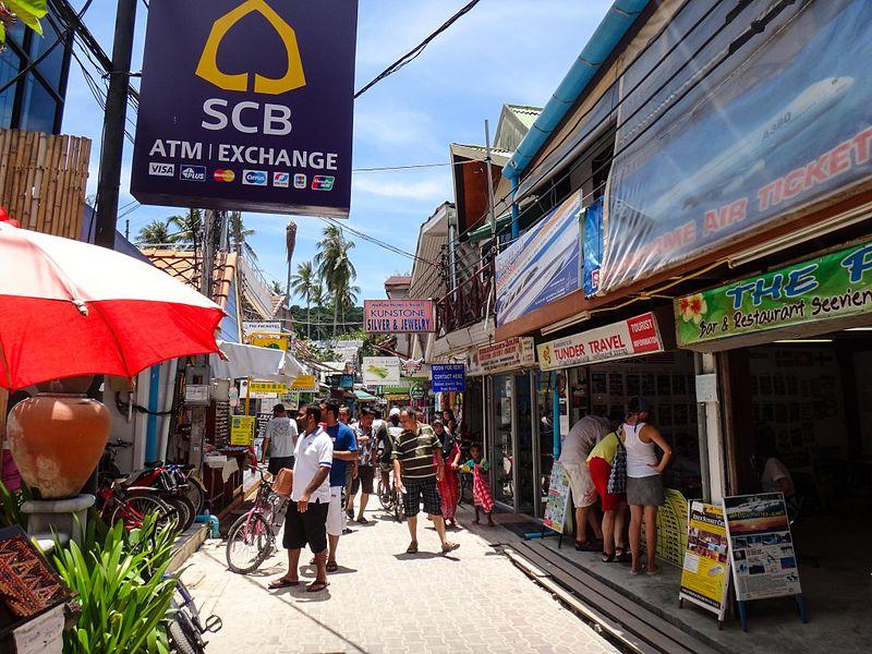Phuket town market