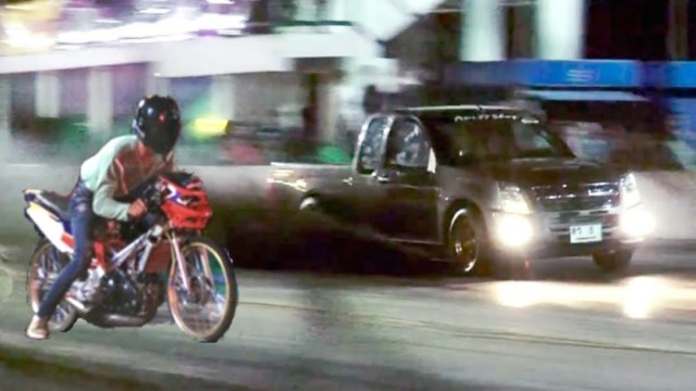 Street racers plough into other bike, three seriously hurt