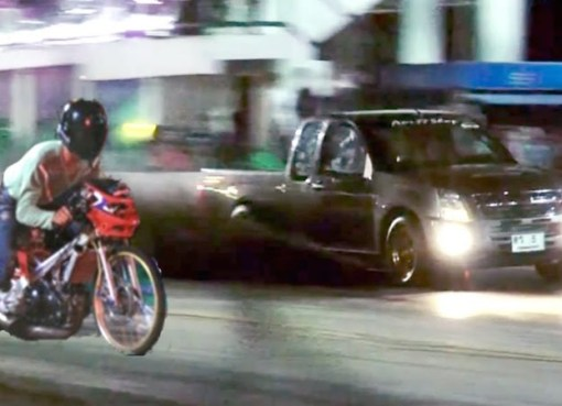 Street racing in Thailand