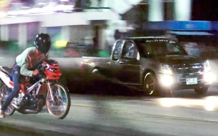 Street racing in Thailand