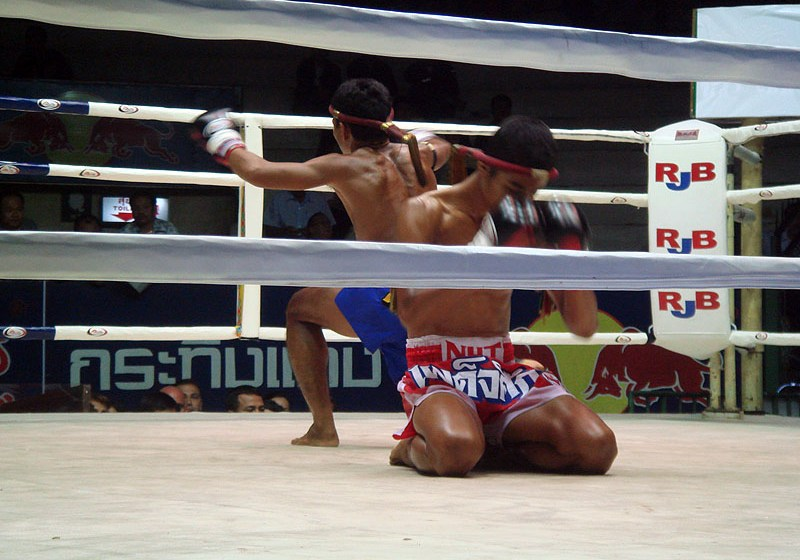 Muay Thai Boxing at Ratchadamnoen Boxing Stadium
