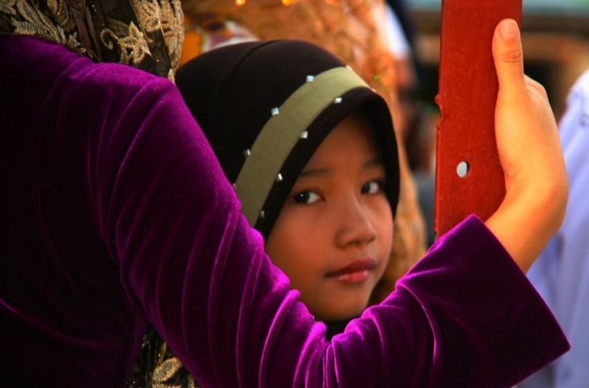 Muslim wedding girl