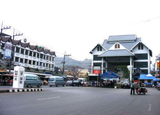 Mae Sai in Chiang Rai is a major border crossing between Thailand and Myanmar