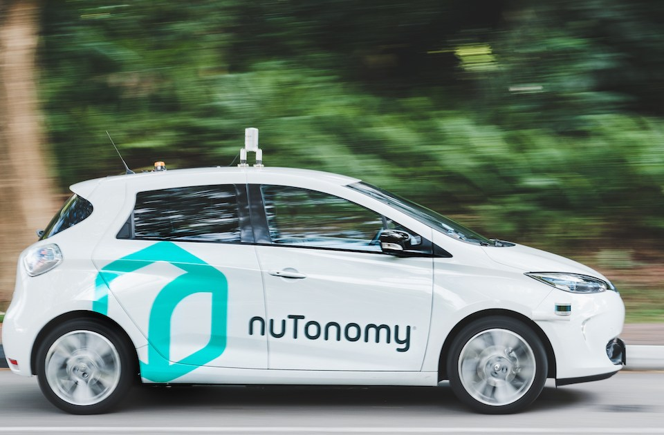 World's first self-driving taxis in Singapore