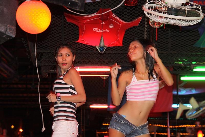 Thailand go go girls.