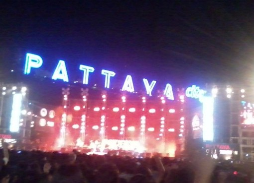A stage in Pattaya.