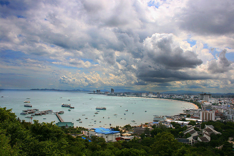 Rainy day in Pattaya