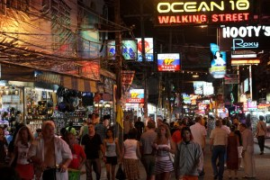 Two ladyboys arrested for stealing wallet, credit cards from South Korean tourist on Walking Street