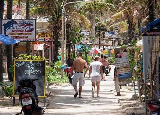 Street in Kamala Beach, Phuket