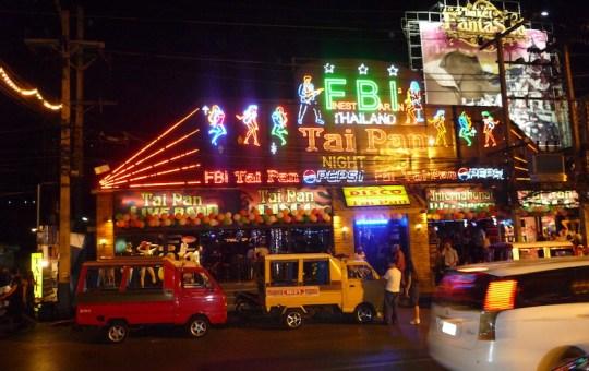 Tai Pan Disco in Patong, Phuket