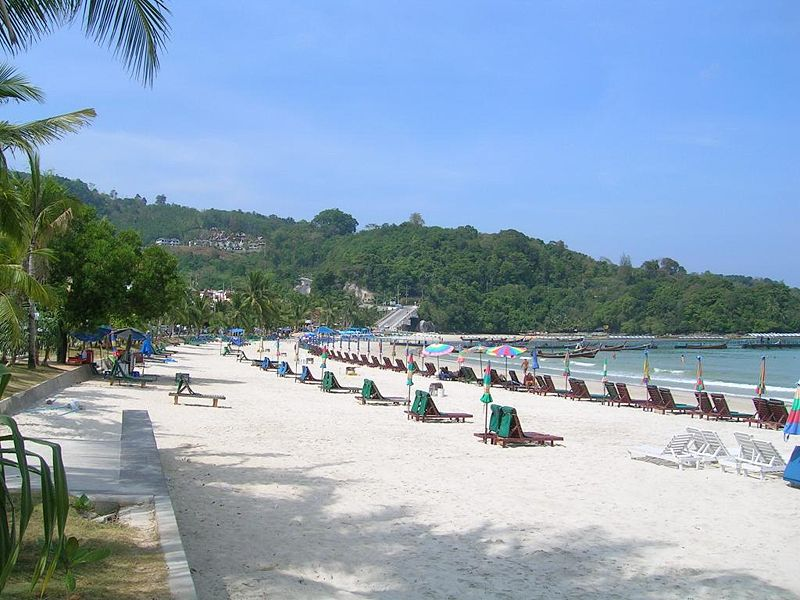 View of Patong Beach in Phuket