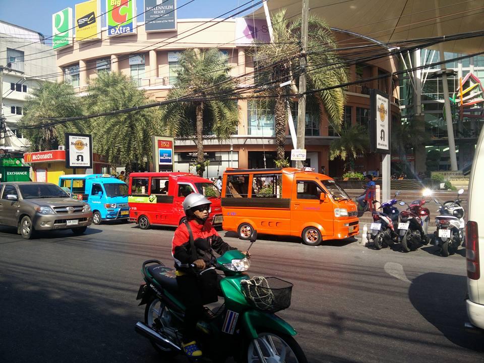 Phuket town street