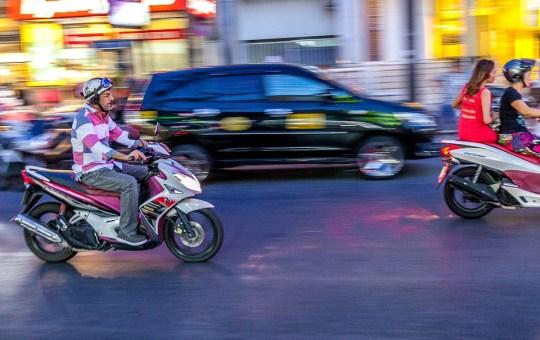Motorcycles in Phuket, Thailand