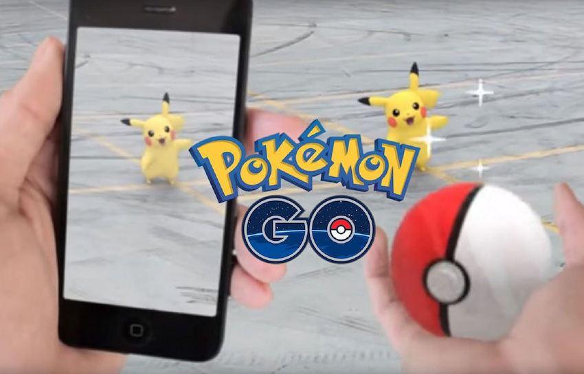 Playing Pokemon Go