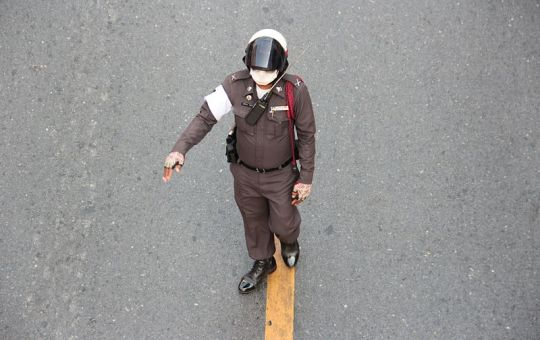 Police officer in Bangkok