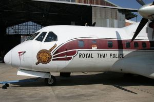 Royal Thai Police Airtech CN-235-100M QC aircraft
