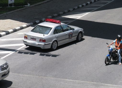 Royal Thai Police BMW 523i