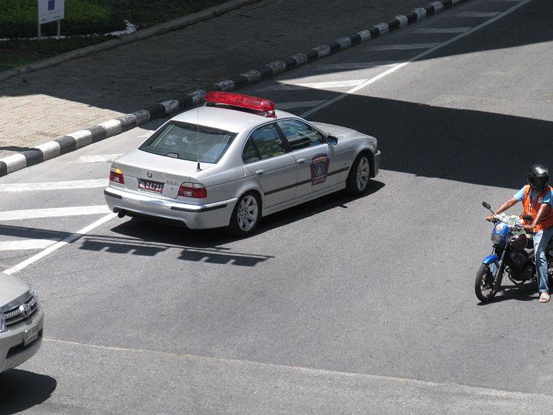 Royal Thai Police BMW 523i