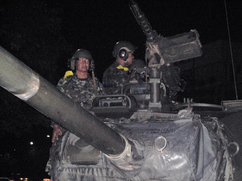 The 2006 coup d'etat in Thailand