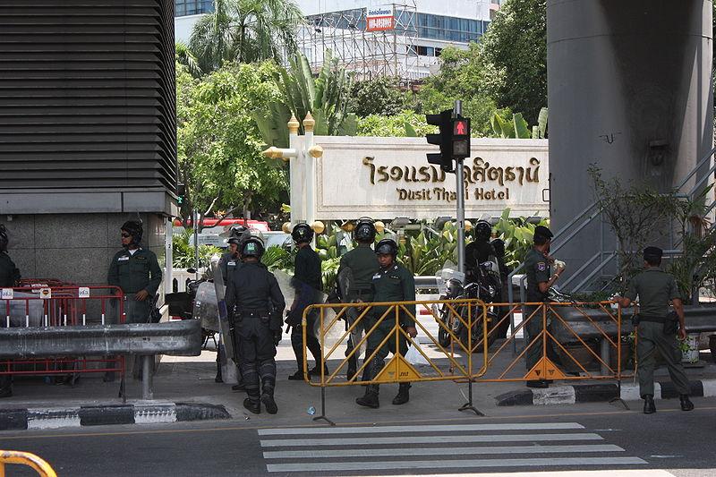 Bangkok on alert over bomb scare