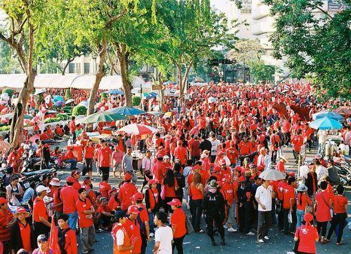 Red Shirts in BAngkok