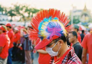 Red shirt in Bangkok