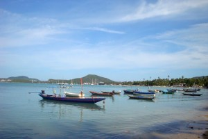Bo Phut Beach in Koh Samui