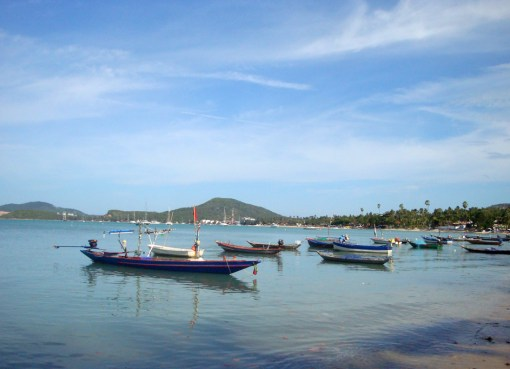 Bo Phut Beach in Koh Samui