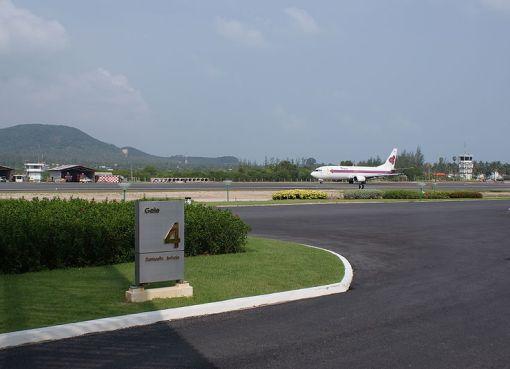Samui Airport runway