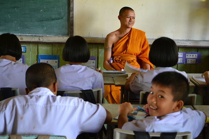School principal capitalizes on superstitions