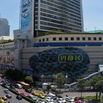 MBK mall center in Bangkok