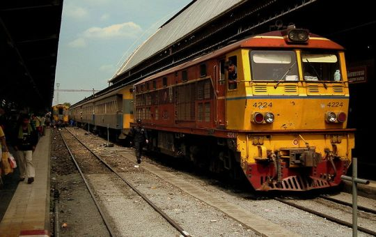 Train of State Railway of Thailand