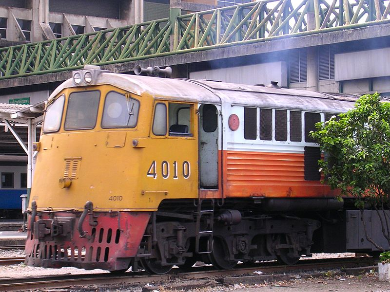 State Railway of Thailand's GE 4010 diesel electric locomotive