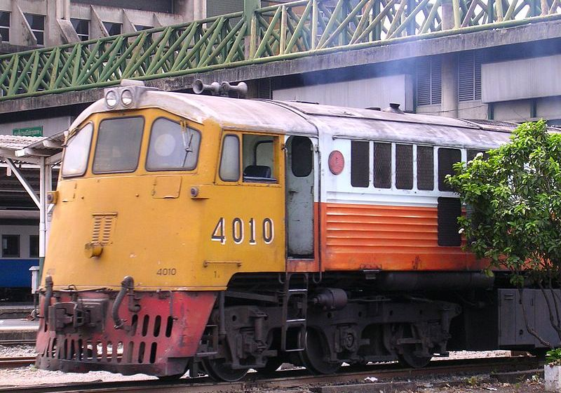 State Railway of Thailand's GE 4010 diesel electric locomotive