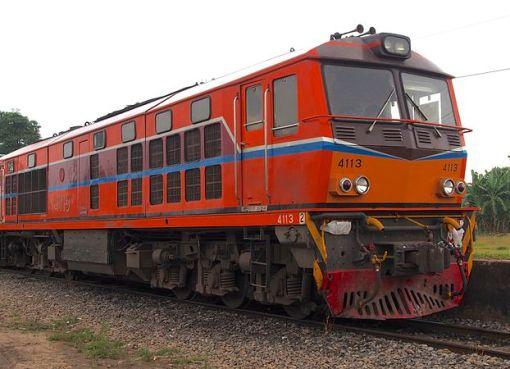Locomotive at Aranyaprathet Railway Station