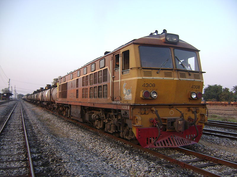 Thailand Freight train