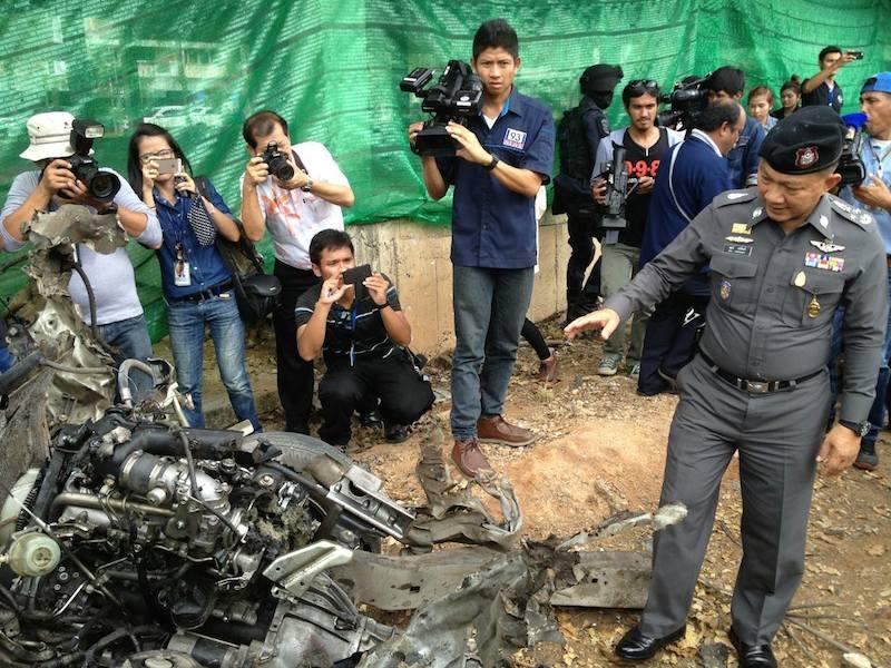 Insurgents detonate car-bomb at Pattani police station