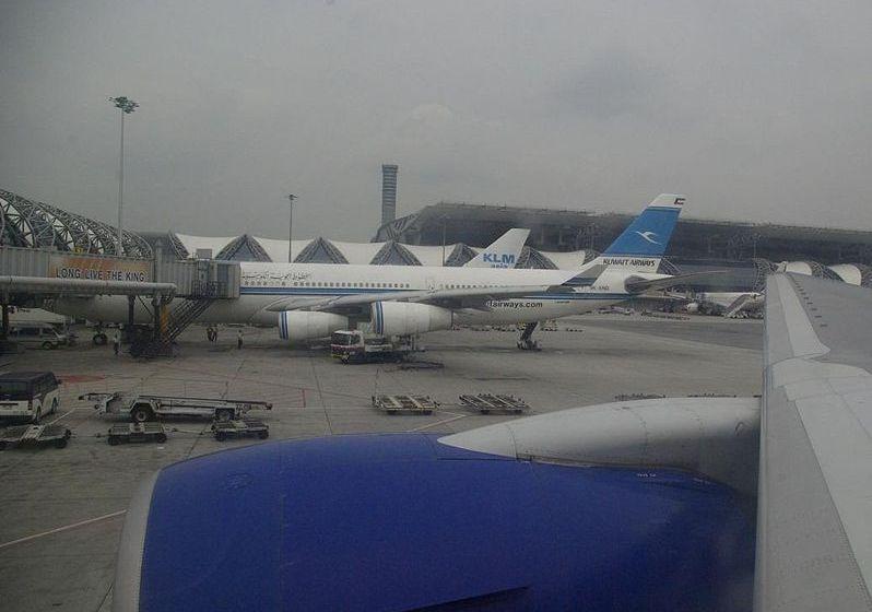 Aircrafts at Suvarnabhumi Airport
