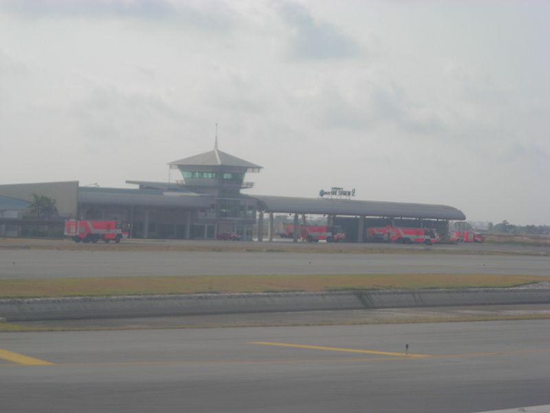 Fire station at Suvarnabhumi Airport, Bangkok