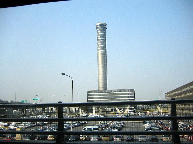 Suvarnabhumi air traffic control tower is 132 meters high