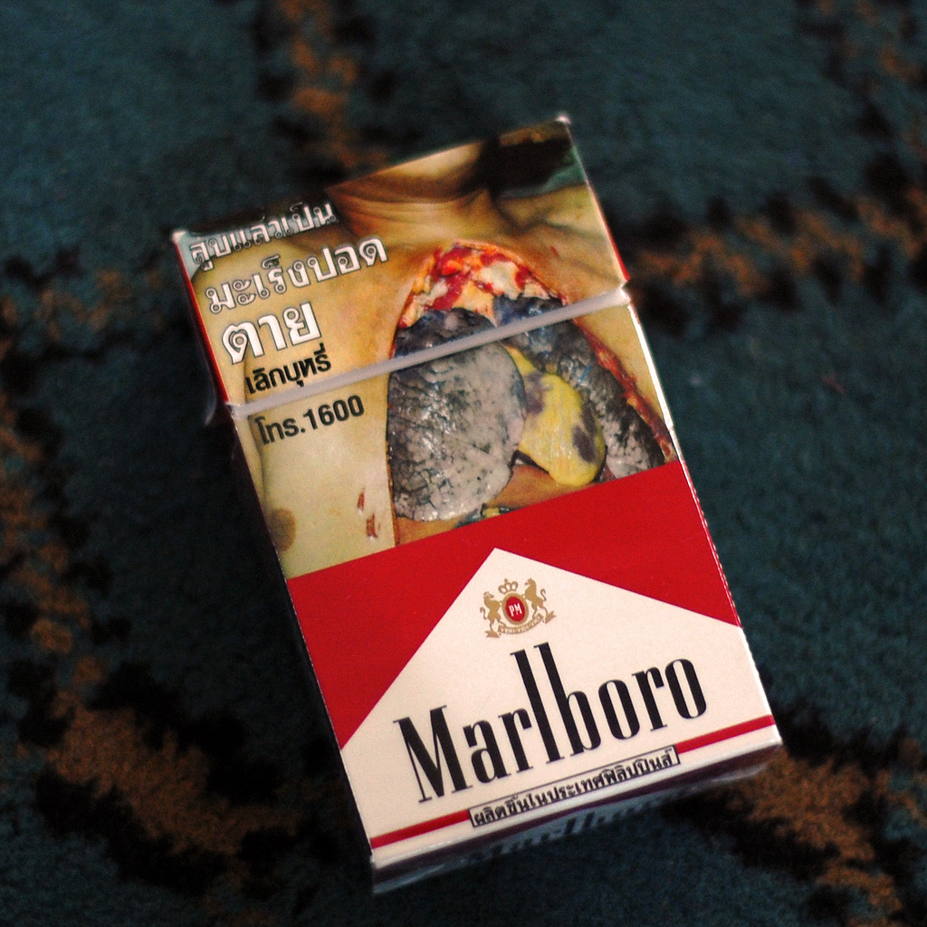 Cigarette Box from Thailand