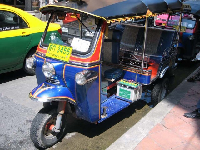 Iconic tuk tuk coming to Scotland streets for the first time