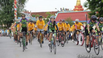 Cycle rally in Loei
