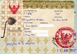 Thai PE visa