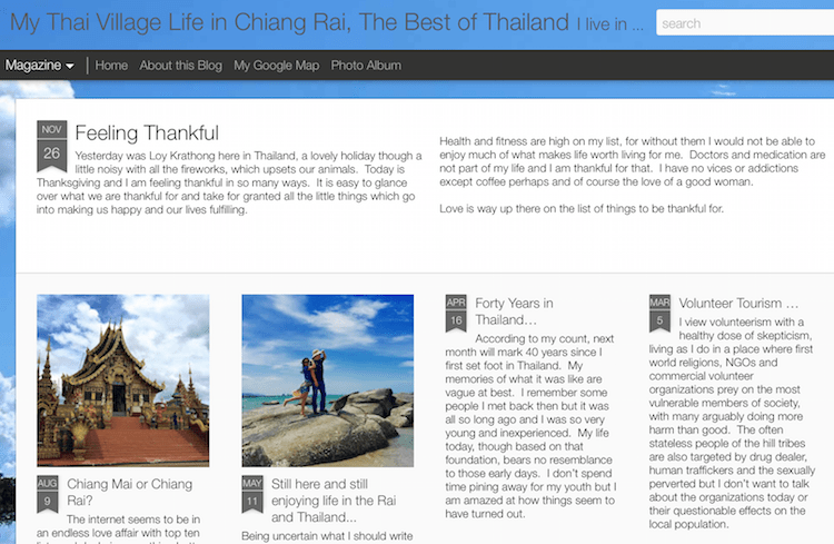 Thailand Blogs - Village Farang
