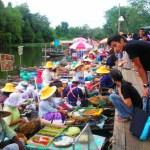 古龙虾水上市场 (Klonghae Floating Market)