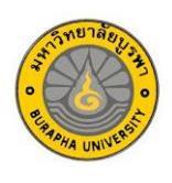 Burapha University Thailand