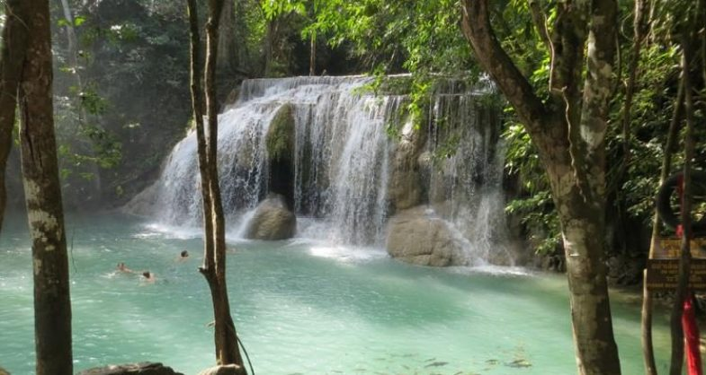 Erawan Waterfall, Kanchanaburi Province, Thailand