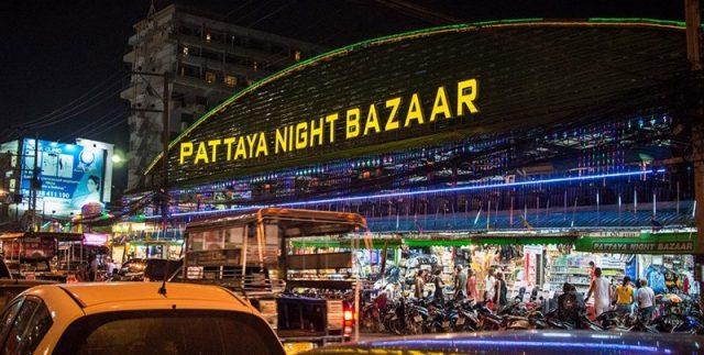 Pattaya Night Bazaar Image